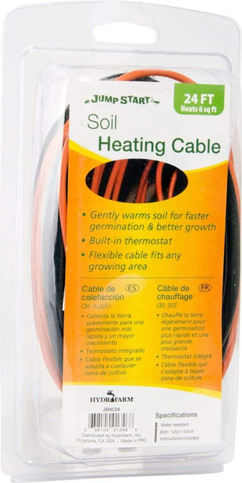 Jump Start Germination Jump Start Soil Heating Cable, 24'