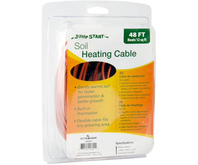 Jump Start Germination Jump Start Soil Heating Cable, 48'