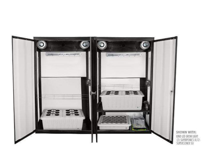 Super Closet Grow Light Kit Super Closet SuperTrinity Smart Grow Closet System