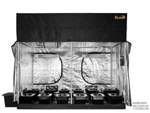 Super Closet Grow Tents 12-Site Bubble Flow Buckets / 2 XL750 - $4030.00 Super Closet SuperRoom 5'x9' Smart Grow Tent System And Kind XL Series LED Grow Light