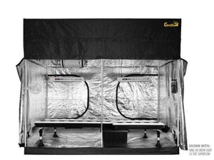 Super Closet Grow Tents 26-Site Super Flow Buckets / 2 XL750 - $4030.00 Super Closet SuperRoom 5'x9' Smart Grow Tent System And Kind XL Series LED Grow Light