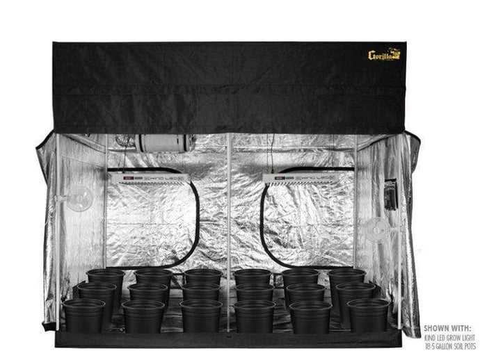 Super Closet Grow Tents Soil / 2 XL750 - $3380.00 Super Closet SuperRoom 5'x9' Smart Grow Tent System And Kind XL Series LED Grow Light