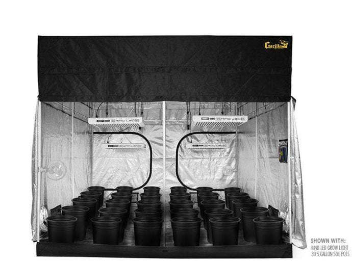 Super Closet Grow Tents Soil / 2 XL750 - $5930.00 Super Closet SuperRoom 9'x9' Smart Grow Tent System And Kind XL Series LED Grow Light