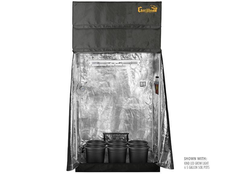 Super Closet Grow Tents Super Closet SuperRoom 2'x4' Smart Grow Tent System And XL600 LED Grow Light