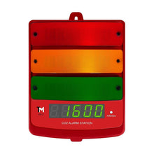 Load image into Gallery viewer, TrolMaster Climate Control TrolMaster Carbon-X CO2 Alarm Station with LED display indicator