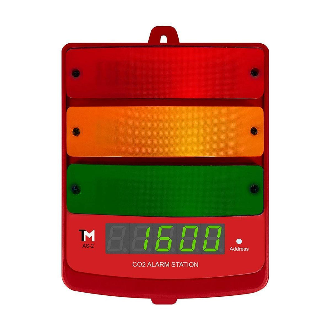 TrolMaster Climate Control TrolMaster Carbon-X CO2 Alarm Station with LED display indicator