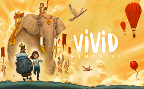 Vivid - Cover Illustration by Andrew Bosley