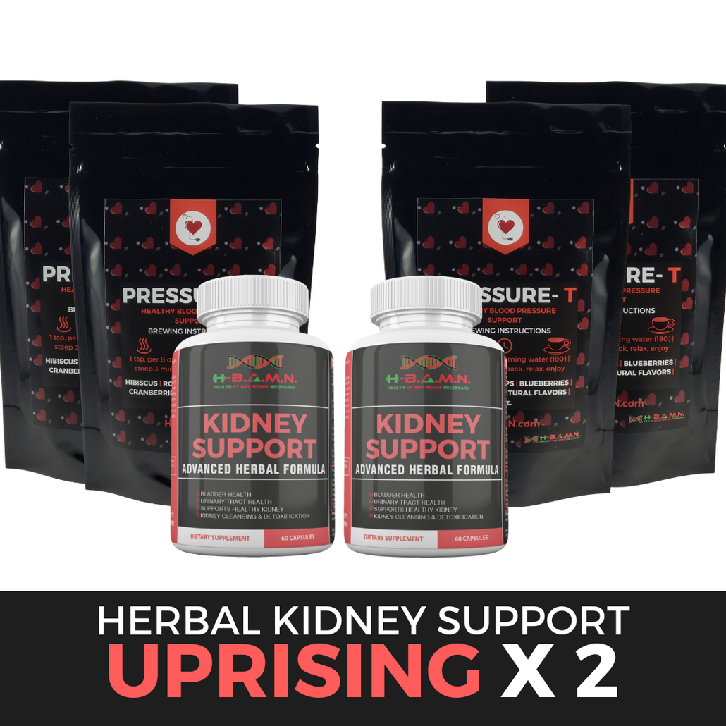 *Nubian Friday* UPRISING [ x2 ]- Advanced Herbal Kidney & Bladder Health Support Kit