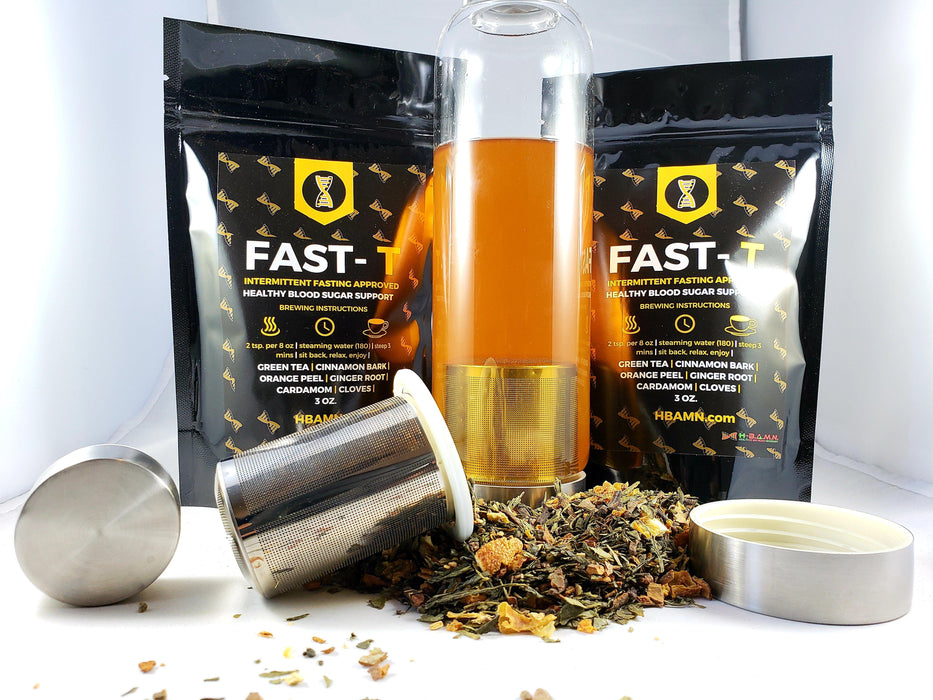 Fast-T 3 oz. **(3 BAGS) Blood Sugar & Fasting support