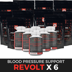 z*Nubian Friday* REVOLT [ x6 ]- Blood Pressure Herbal Support & Nitric Oxide Booster Kit
