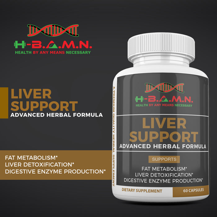 *Nubian Friday* REBELLION  [x6] - All natural Herbal Liver Support & Detox