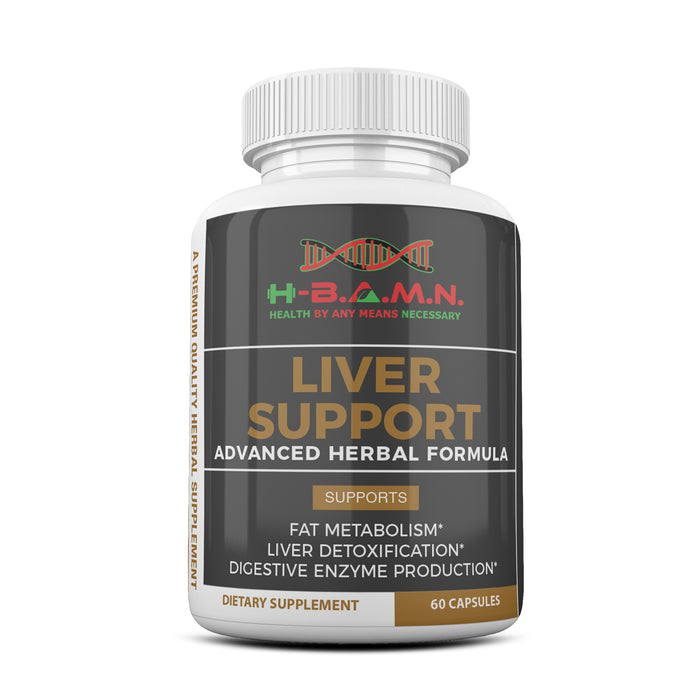 [ 12 PACK ] Liver Support- All natural Herbal Liver Support & Detox