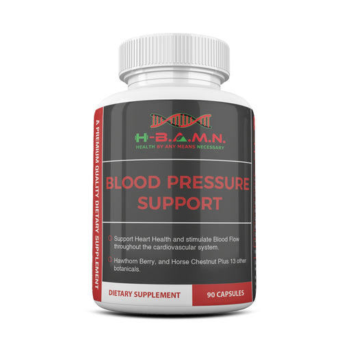 *Nubian Friday* [ 2 BOTTLES ] Blood Pressure Herbal Support- Nitric Oxide Booster