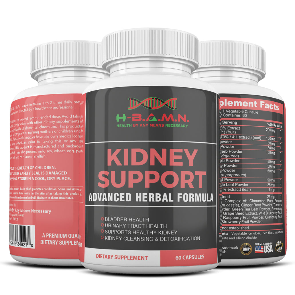 *Nubian Friday* [ 3 BOTTLES ] Advanced Herbal Kidney Support