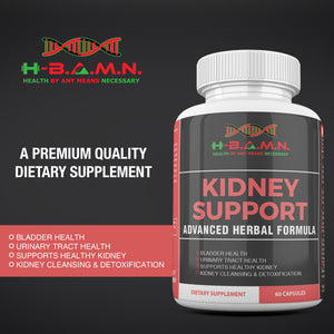 *Nubian Friday* [ 6 BOTTLES ] Advanced Herbal Kidney Support