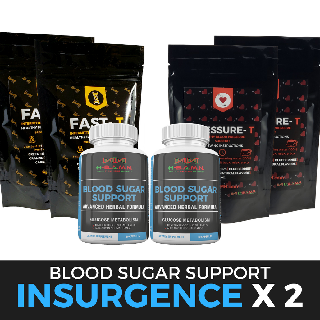 *Nubian Friday* INSURGENCE [ x2 ]- All natural Herbal Blood sugar lowering Kit
