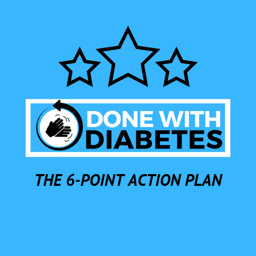 Done With Diabetes 6-point Action Plan Group Coaching