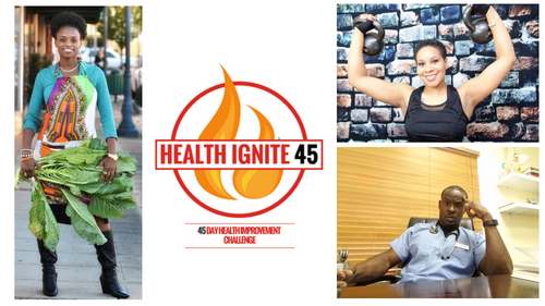 Health Ignite 45 challenge