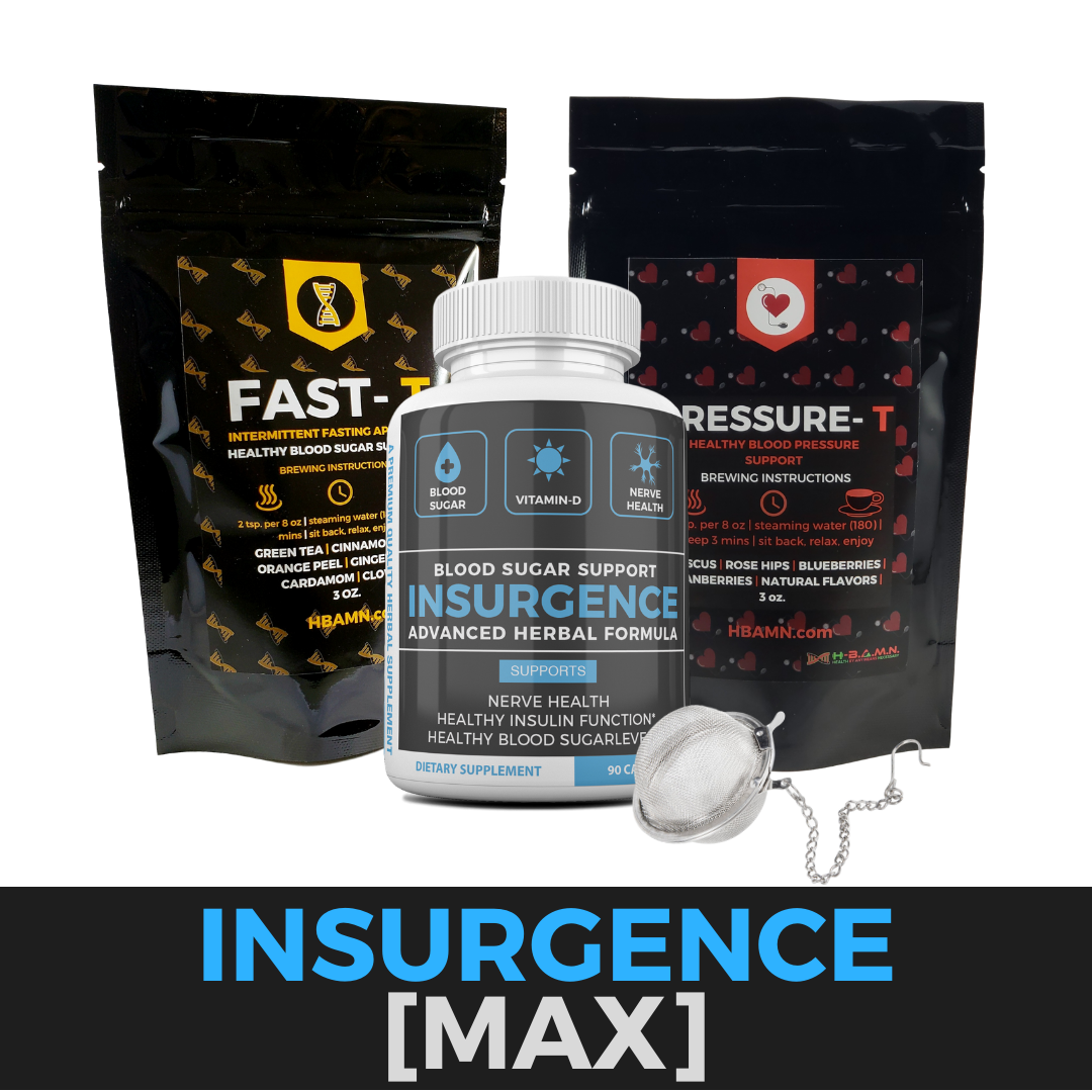 INSURGENCE- All natural Herbal Blood sugar lowering Kit