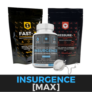 INSURGENCE [MAX]- Blood Sugar | Vitamin-D | Nerve Health Support