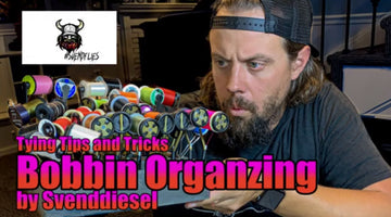 Fly Tying Tip and Trick: How to use Bobbins to Organize your Thread
