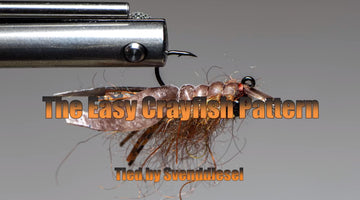 The Easy Crayfish Fly Pattern Tutorial