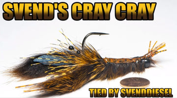 Svend's Cray Cray Fly Pattern Tutorial