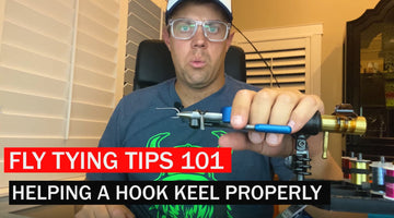 Fly Tying Tricks and Tips 101: How to Help a Hook Keel Better
