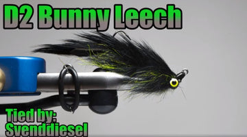 D2 Bunny Leech Fly Pattern Tutorial