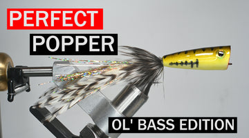 The Perfect Popper Fly Tying Tutorial