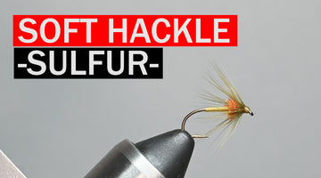 Soft Hackle Sulfur Fly Pattern Tutorial