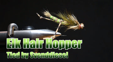 The Elk Hair Hopper Fly Pattern Tutorial