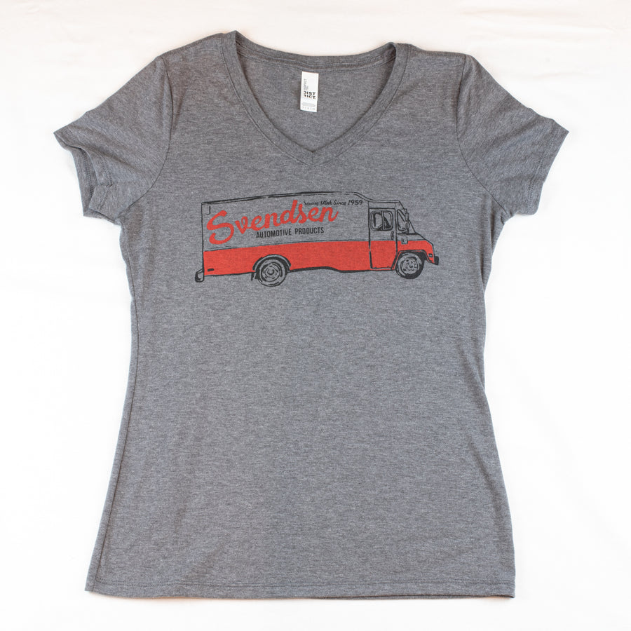 Women's V-Neck Svendsen Tri-Blend Shirt
