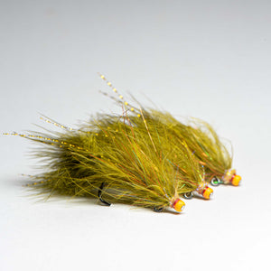 Marabou Balanced Leech (3 Flies)