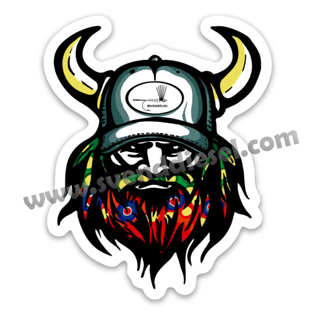 Svendflies Viking Sticker