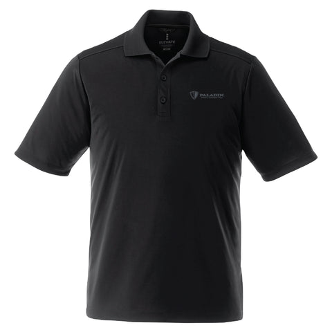 Black Dade short sleeve polo