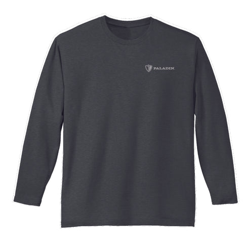 Charcoal District Made Mens Perfect weight long sleeve
