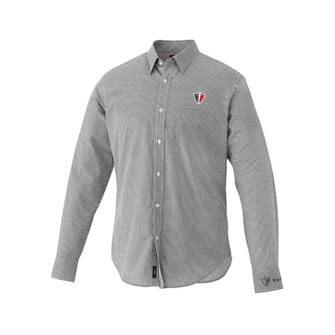 Grey Quinlan Long Sleeve Dress Shirt