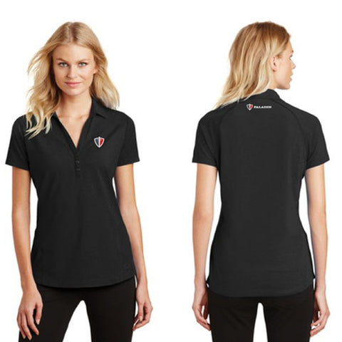Women's Black OGIO Onyx Polo
