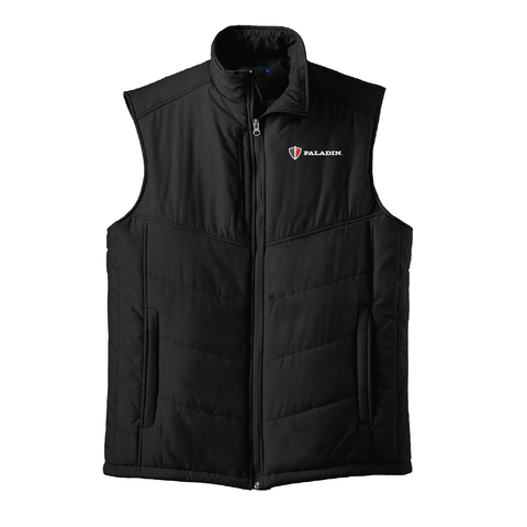 Black Port Authority Puffy Vest