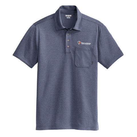 Blue Herringbone Ogio Express Polo