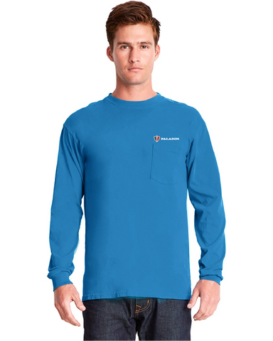 Ocean Next Level Dye Long sleeve crew w/pocket