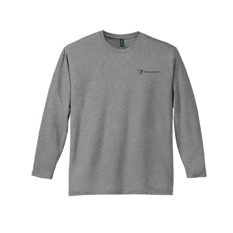 Hthr Steel District Made Mens Perfect weight long sleeve