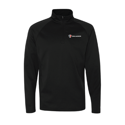 Black Champion colorblocked perfomance quarter zip