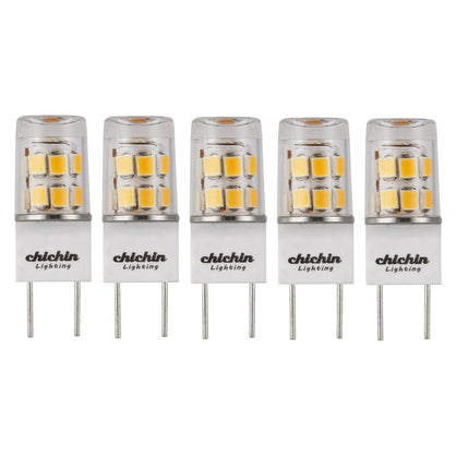 ChiChinLighting 5-Pack g8 led Bulb