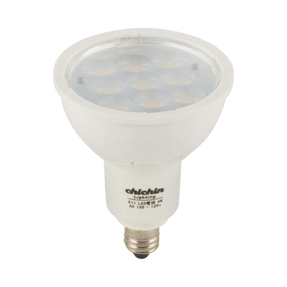 ChiChinLighting E11 4.5 Watt Mini Candelabra LED Light Bulb – Reflector Light Bulb – 60 Degrees – 2750k Warm White Light Color