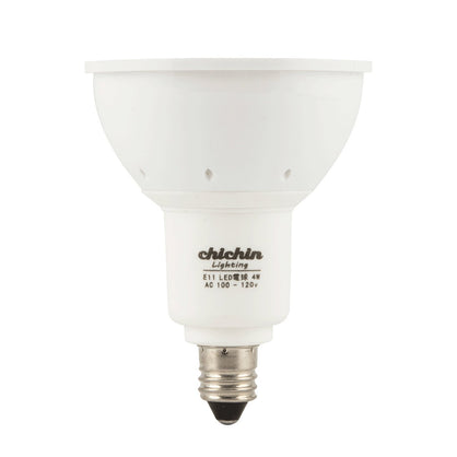 ChiChinLighting E11 Mini Candelabra LED Light Bulb E11 Reflector Light Bulb 60 Degree (Bright White 6000k)
