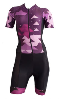Uniforme enterizo dama Purple Ref:  1235