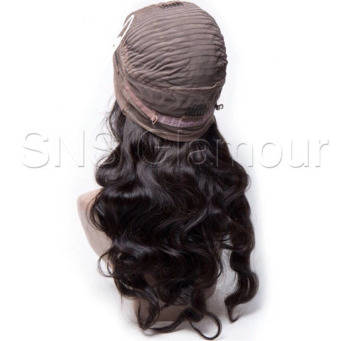 Indian Glamour Body Wave Full Lace Wig