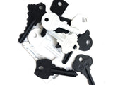 Add on extra key option for key charm necklaces | Black or White keys
